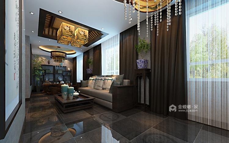 少林寺500平自建房装了多少钱?算算就知道-餐厅效果图及设计说明