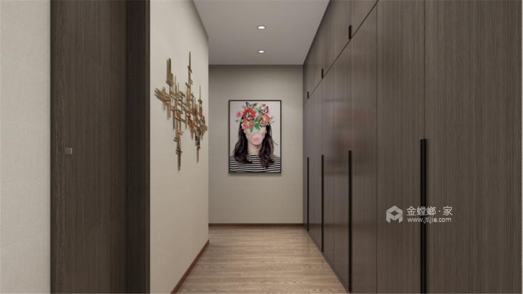 暖色调家居设计   无隔断,空间更透亮!-卧室效果图及设计说明