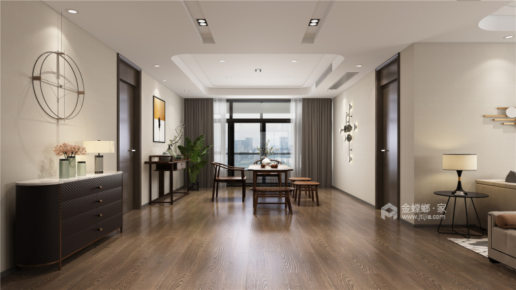 暖色调家居设计   无隔断,空间更透亮!-其他空间