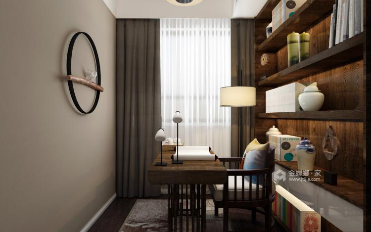 低调而精致的家,大概就是这个样子吧-书房