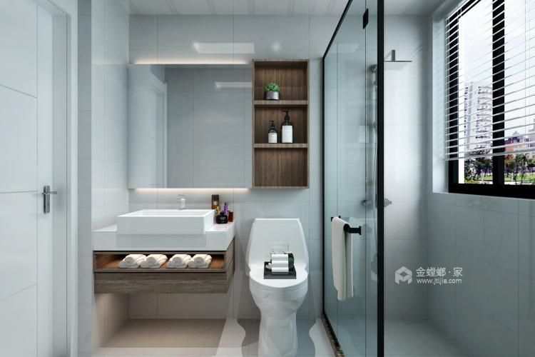 低调而精致的家,大概就是这个样子吧-卫生间
