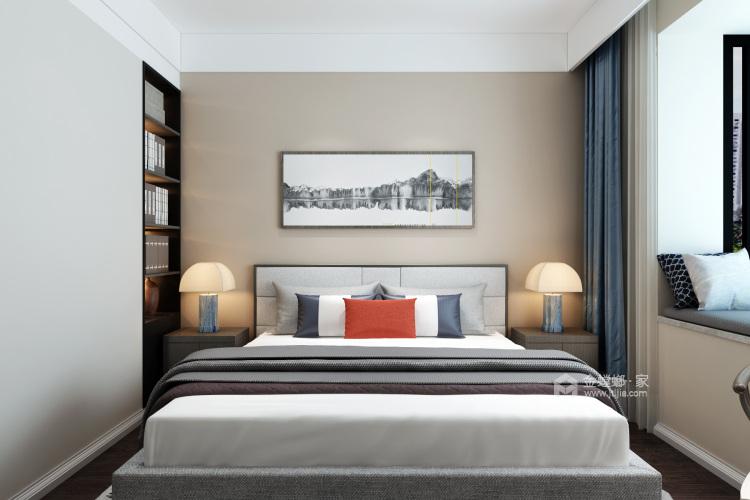 低调而精致的家,大概就是这个样子吧-卧室效果图及设计说明