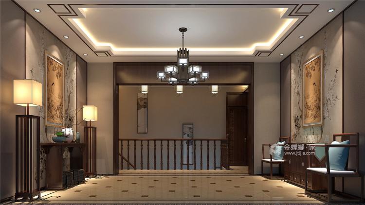 400平中式风,古朴精致的画面感!-走廊