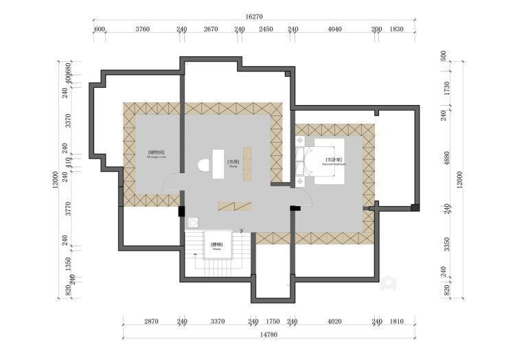 这个别墅欧式的家,你一秒就能爱上!-平面设计图及设计说明