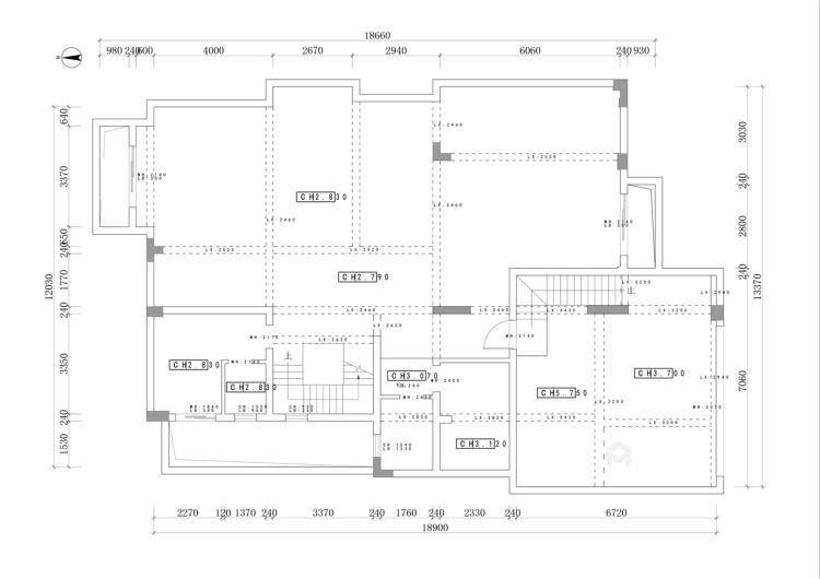 这个别墅欧式的家,你一秒就能爱上!-业主需求&原始结构图