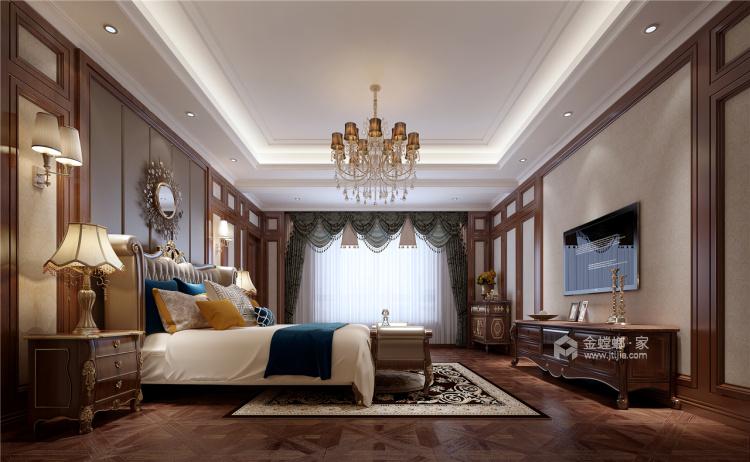 这个别墅欧式的家,你一秒就能爱上!-卧室效果图及设计说明