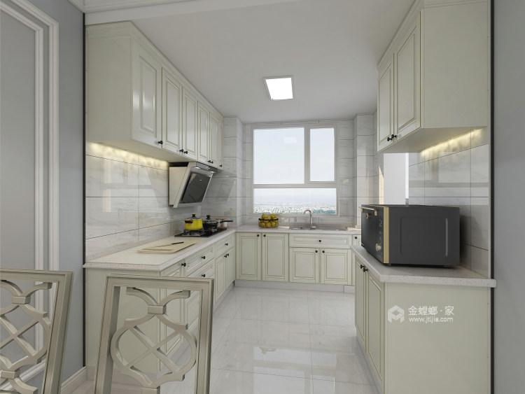 144㎡现代简约风,线条高级打造轻奢感-厨房