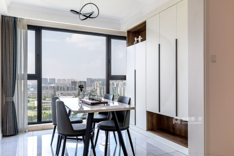 126㎡——期待属于真正自己的家-餐厅效果图及设计说明