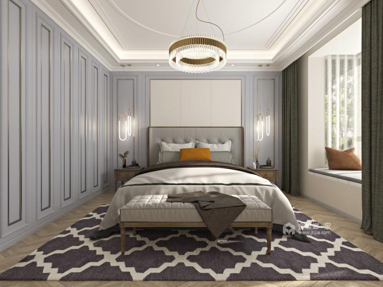 素雅,淡然,将所有生活回归本质-卧室效果图及设计说明