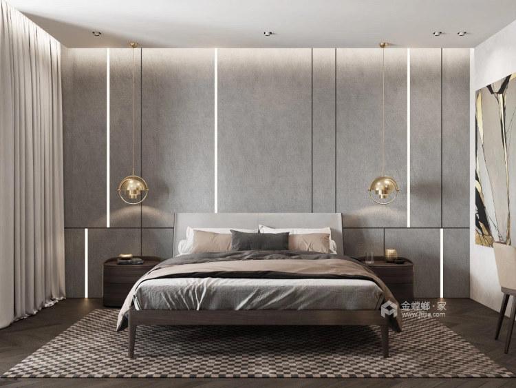 品质生活——97㎡橡树湾2室-卧室效果图及设计说明