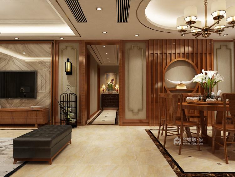 人文情怀镌刻新中式里的古风古韵~-餐厅效果图及设计说明