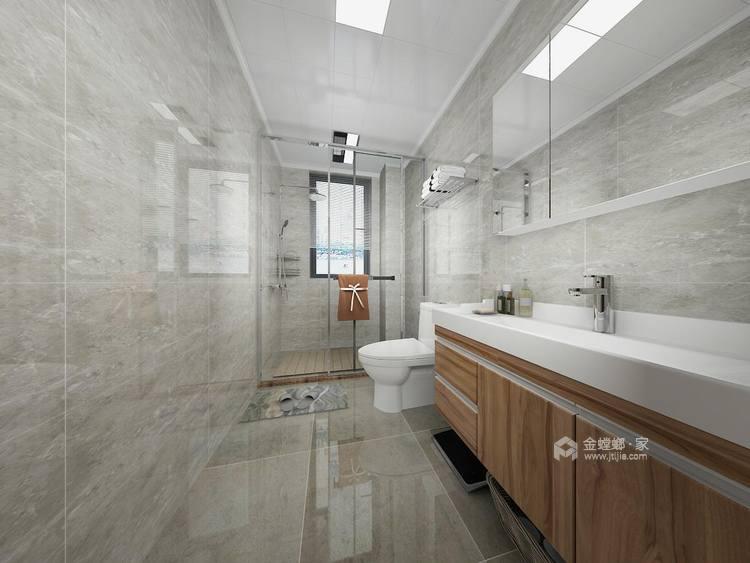 150平的三居室,这风格设计太美了!-卫生间
