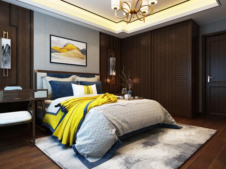 200㎡人文艺术演绎东方之美-卧室
