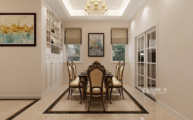 200m²欧式别墅、带你体验不一样的感觉-空间效果图