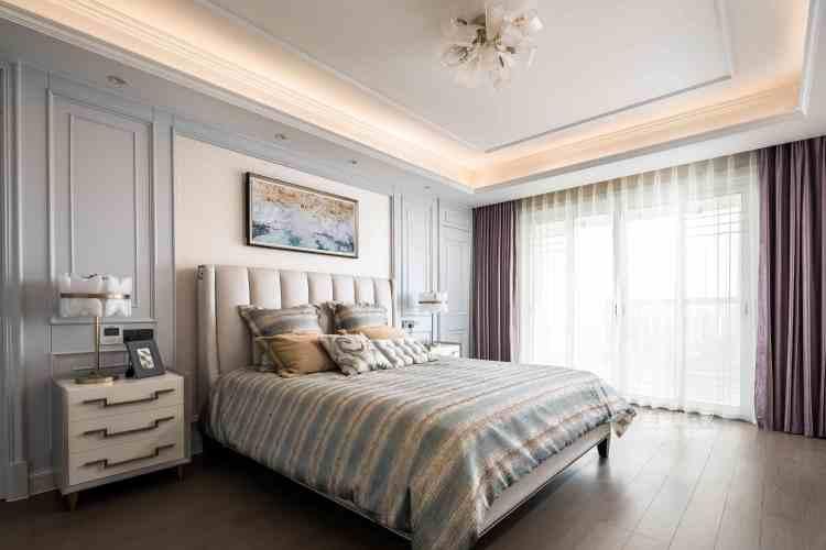 250㎡美式风——把日子过成诗-卧室效果图及设计说明