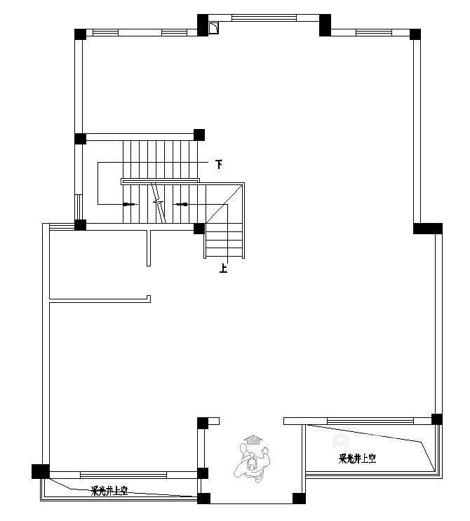480㎡打造别具一格的私密别墅风-业主需求&原始结构图