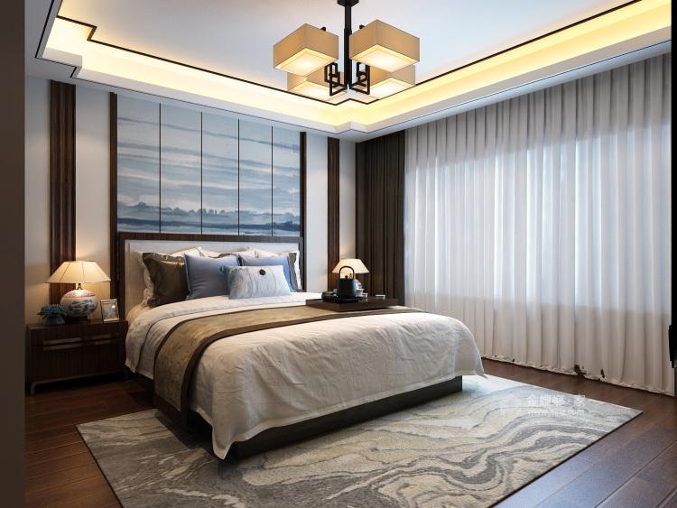 200㎡人文艺术演绎东方之美-卧室效果图及设计说明