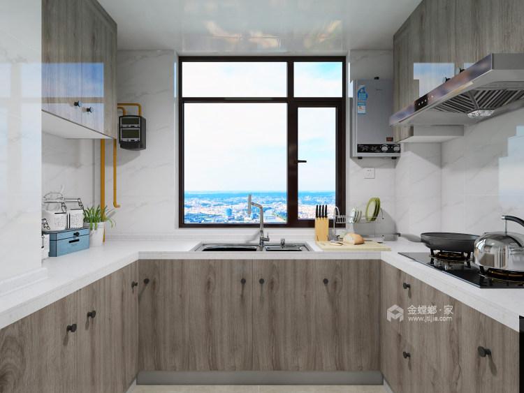 在颜值与功能中,发掘最有归属感的家!-厨房
