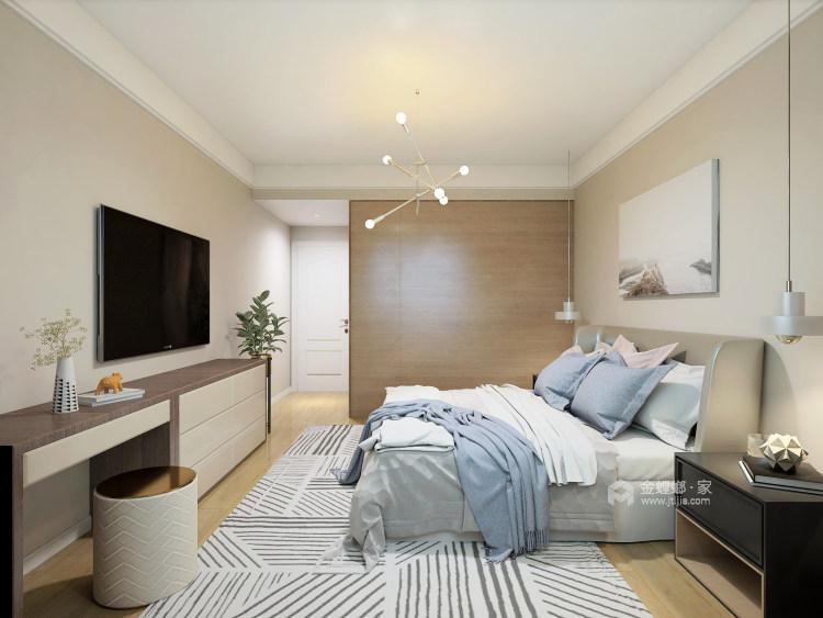 在颜值与功能中,发掘最有归属感的家!-卧室效果图及设计说明