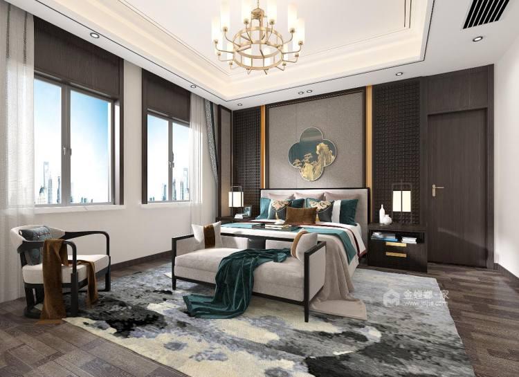 中式品味,大道至简-卧室效果图及设计说明