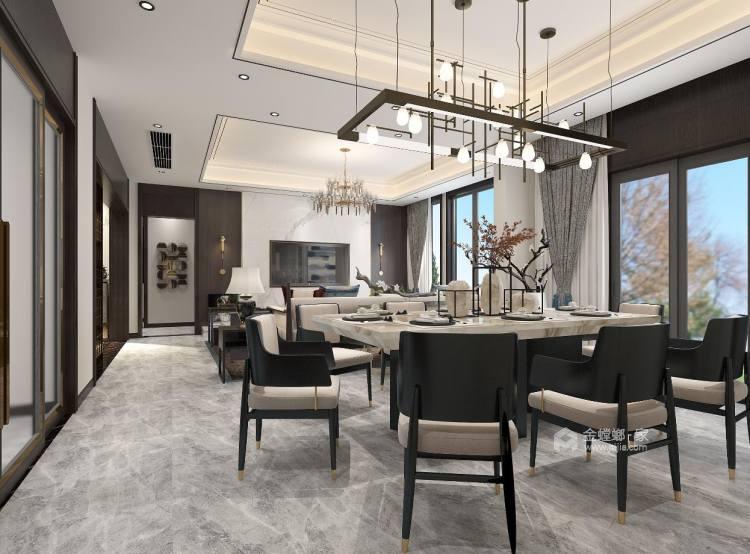 中式品味,大道至简-餐厅效果图及设计说明