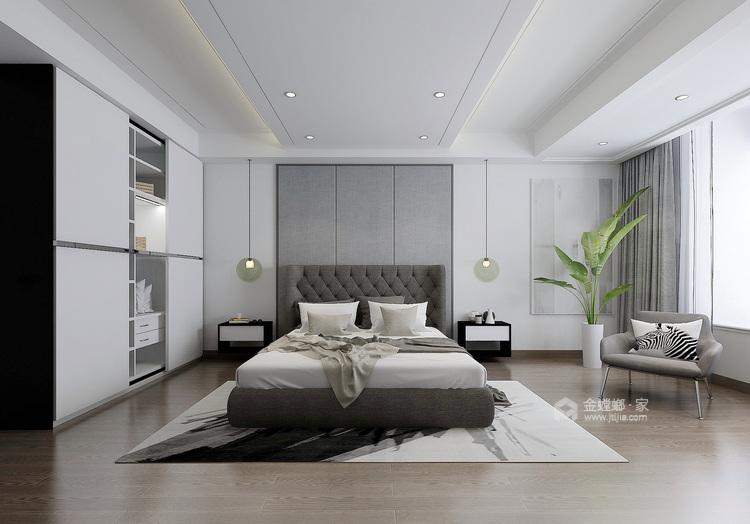 简约时尚,舒适生活-卧室效果图及设计说明