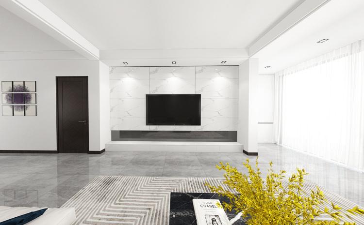落落大方的老年房,舒适!-客厅效果图及设计说明