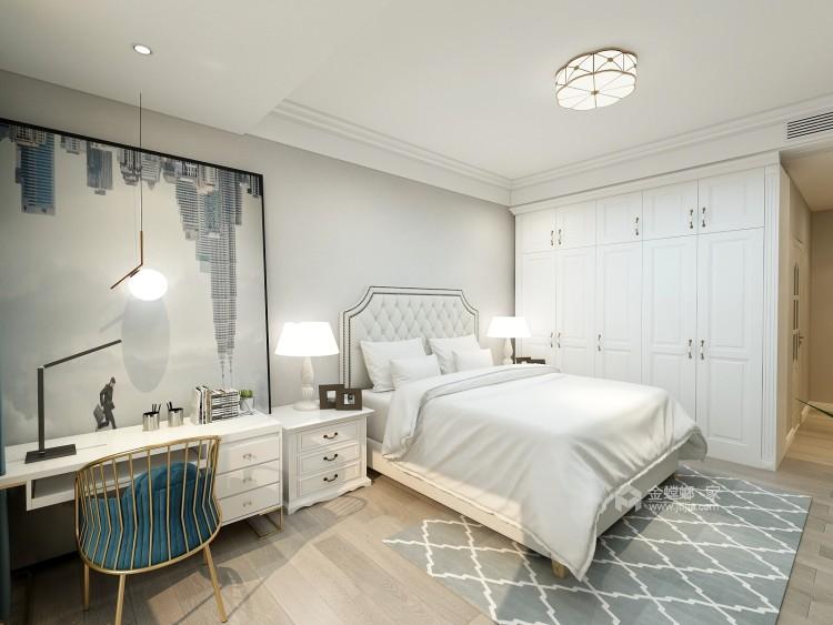 现代简约打造品质追求-卧室效果图及设计说明