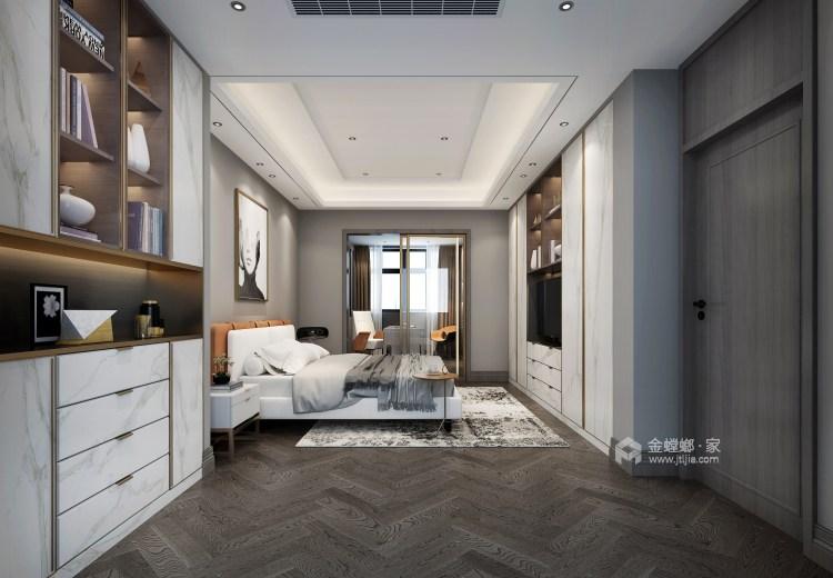 三口之家的轻奢漫时光-卧室效果图及设计说明