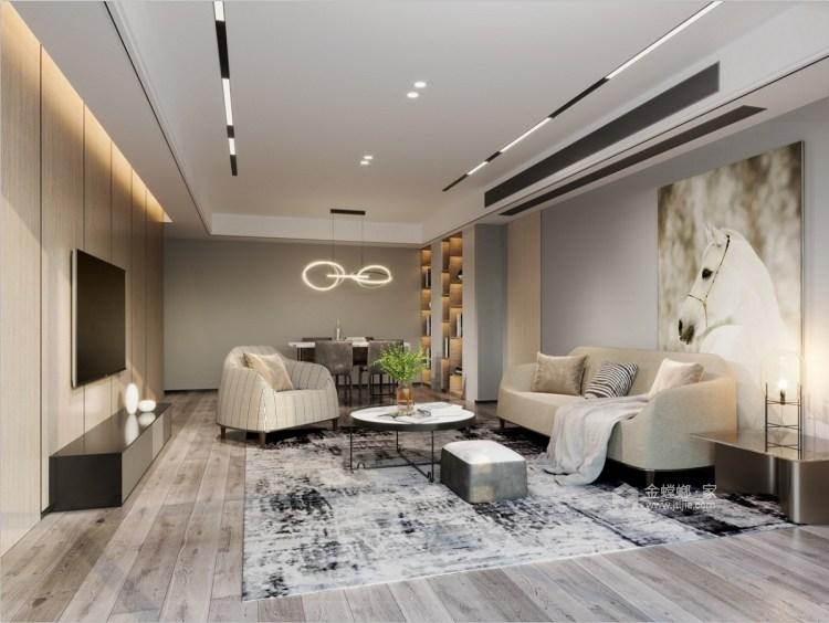 小户型大收纳-客厅效果图及设计说明