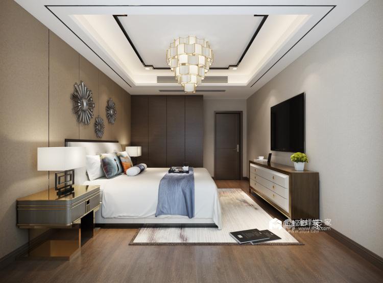传统与现代的最佳碰撞-卧室效果图及设计说明