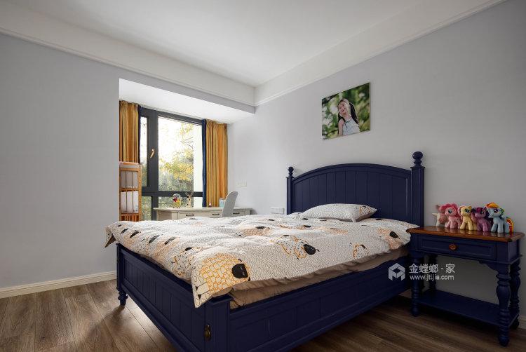 不拘一格,缤纷色彩打造惬意生活-卧室效果图及设计说明