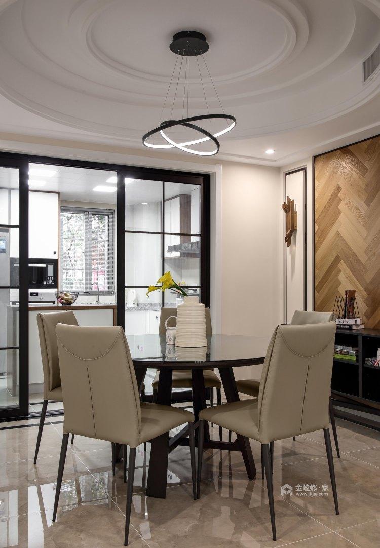 不拘一格,缤纷色彩打造惬意生活-餐厅效果图及设计说明