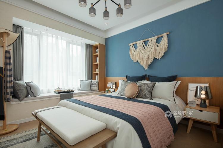 150㎡国安公馆现代风-卧室效果图及设计说明