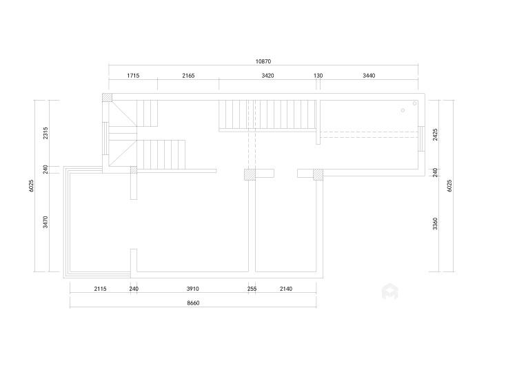 深沉的东方意境   静雅的书香门第-业主需求&原始结构图