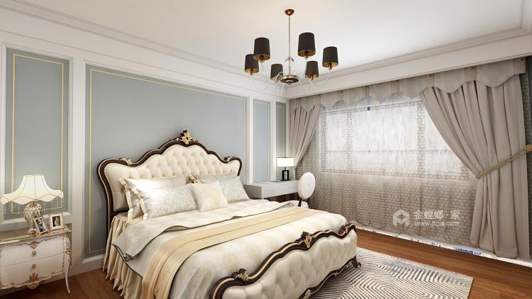 轻奢,是恰到好处的精致-卧室效果图及设计说明