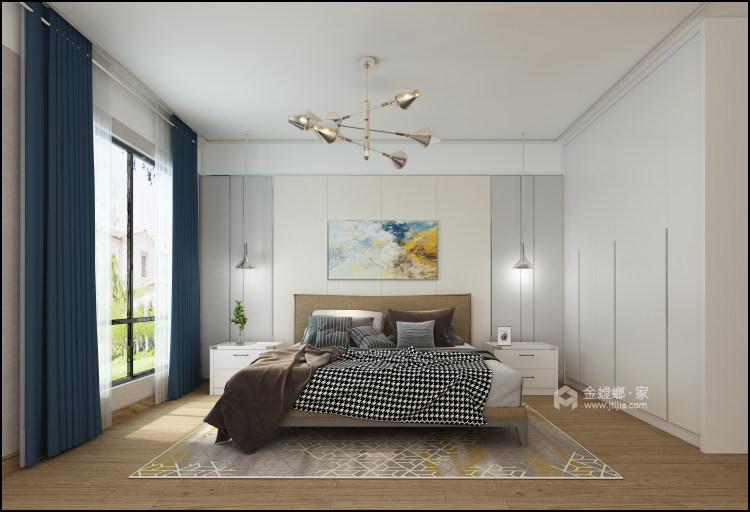 别墅新作|半山午后310㎡大平层-卧室效果图及设计说明