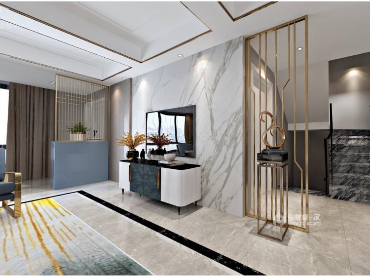 简洁、纯粹的生活格调-客厅效果图及设计说明