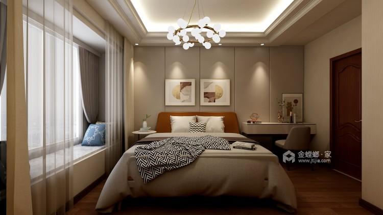 轻奢华 · 新时尚——140平现代轻奢软装案例-卧室效果图及设计说明