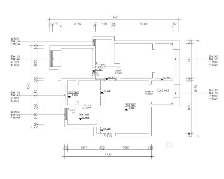 十方界4-2-14-2-业主需求&原始结构图