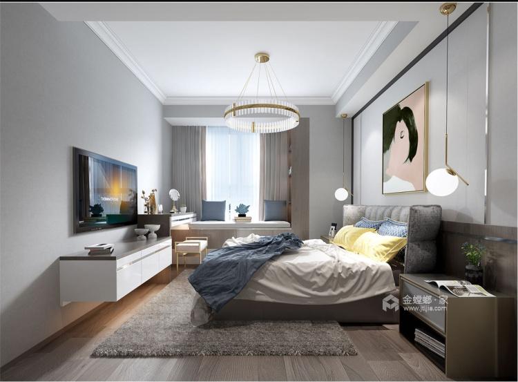 130㎡现代 | 生活原本就该这样优雅从容!-卧室效果图及设计说明