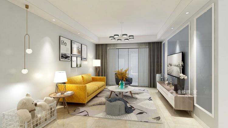 孩子眼中的家-客厅效果图及设计说明