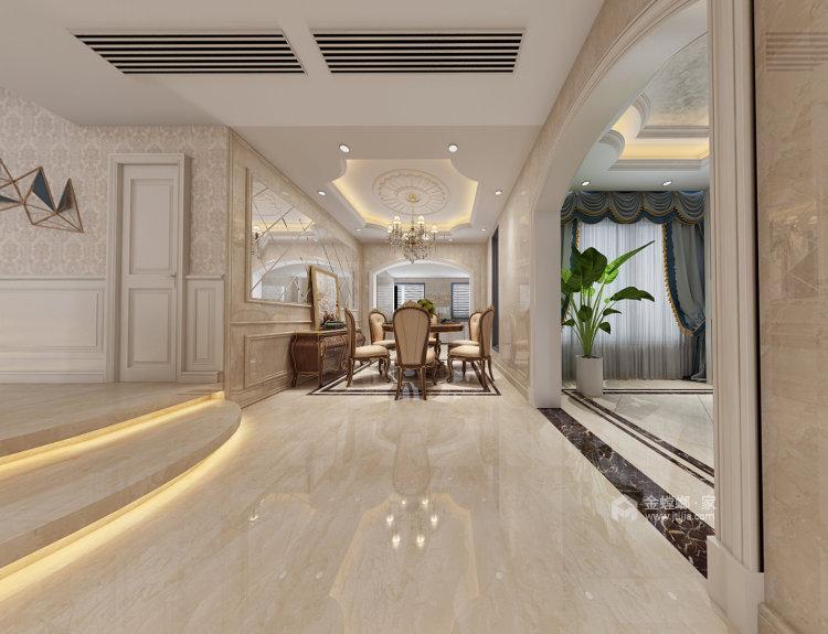 龙湾庄园李姐雅居-餐厅效果图及设计说明