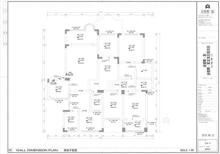 龙湾庄园李姐雅居-业主需求&原始结构图