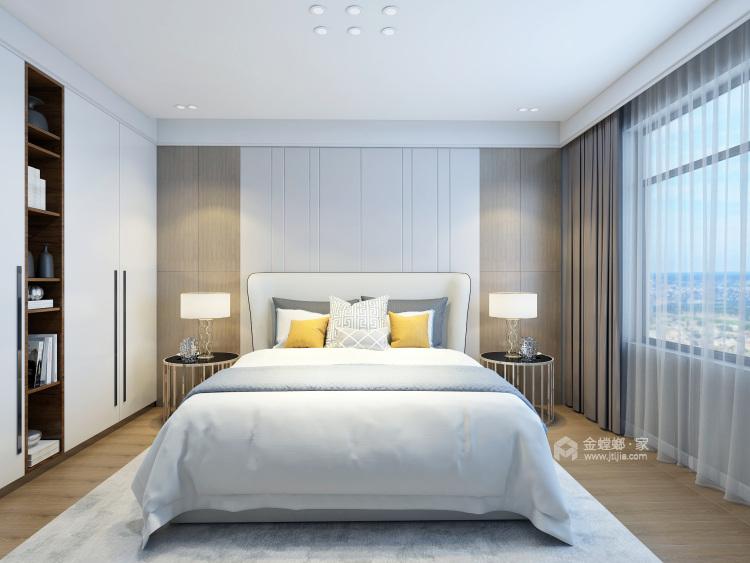 170㎡实用与时髦并存的雅奢风之家!-卧室效果图及设计说明