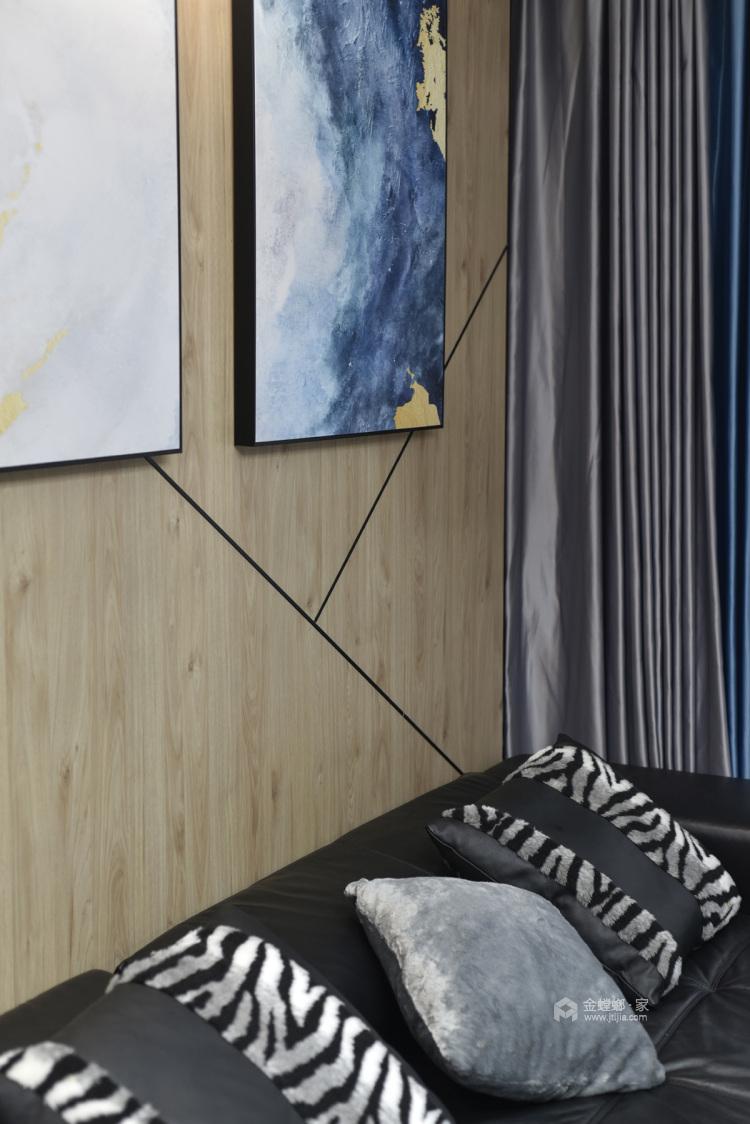 实景 | 永不过时的现代风格-客厅效果图及设计说明