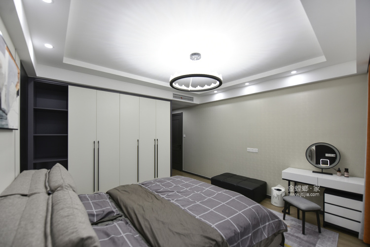 实景 | 永不过时的现代风格-卧室效果图及设计说明