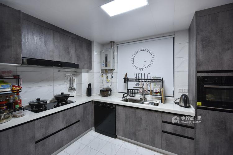 实景 | 永不过时的现代风格-厨房