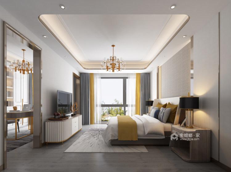 胡桃木色现代轻奢    设计规划优雅的未来生活-卧室