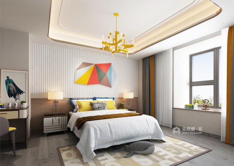 胡桃木色现代轻奢    设计规划优雅的未来生活-儿童房